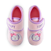 Kids Sleeping Bunny Bootee Slippers