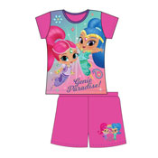 Girls Toddler Shimmer & Shine Shortie Pyjamas