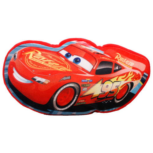 Disney Cars 3 Shaped Cushion Vacuum Packed
