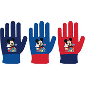 Official Childrens Mickey Mouse Knitted Gloves