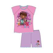 Girls Doc Mcstuffin Pyjamas Toddler Shortie