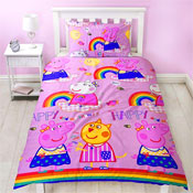 Peppa Pig Hooray Reversible Duvet Set