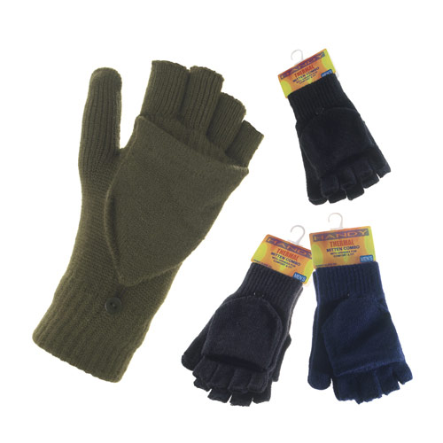 Mens Combo Gloves with Flap