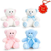 15cm Baby Spotty Bear Soft Toy