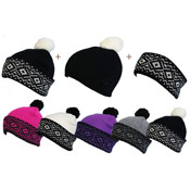 3 in 1 Headband And Hat