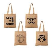 Handy Shopper Bag Novelty Print