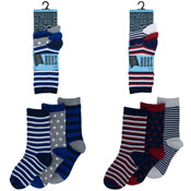 Boys Assorted Design Socks