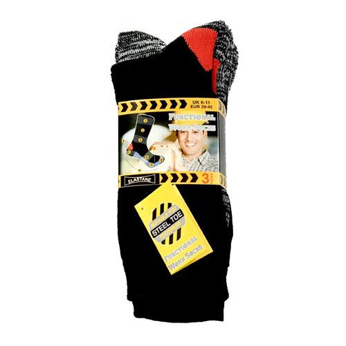 Mens Self Heating Functional Work Socks