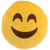 Fun Plush Cushion Happy