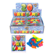 Colourful Water Bombs