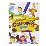 Super Awesome Colouring Book 72 Page