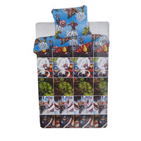 Official Marvel Avengers Rotary Duvet Set