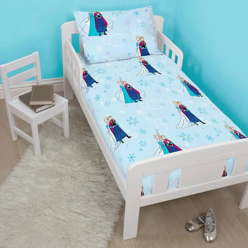 Disney Frozen 4 Piece Toddler Bed Set