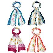 Ladies Scarves Butterfly Print