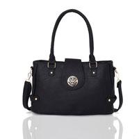 Violet Tote Bag Black