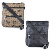 Ladies Butterfly Jacquard Messenger Bag