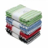 Mono Check 3 Pack Tea Towels