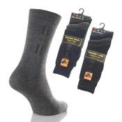 Mens Techno Socks Diamond Stripe Design