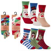 Cotton Rich Novelty Christmas Socks