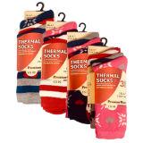 Ladies 3 Pack Thermal Socks Snowflake