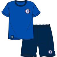 Official Mens Chelsea Shortie Pyjamas