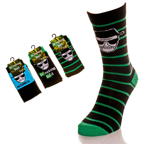 Mens Breaking Bad Socks Carton Price