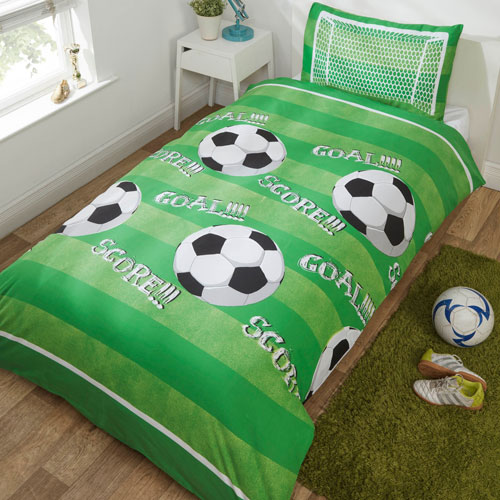 Goal Single Quilt Cover Set