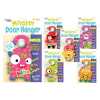 Monster Door Hanger Craft Set