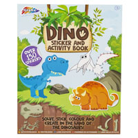 Dino Activity & Sticker Book