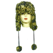 Ladies Faux Fur Luxury Trapper Hat