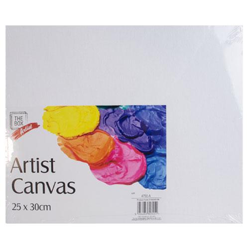 Artist Canvas Panel 25cm x 30cm
