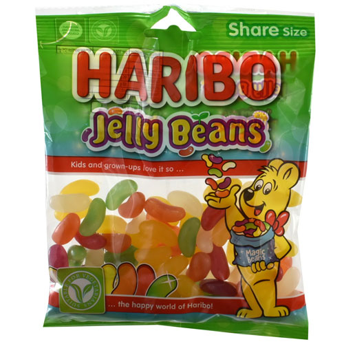 Haribo Jelly Beans Sweets 140g Bag