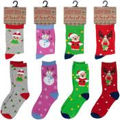 Kids Novelty Christmas Socks