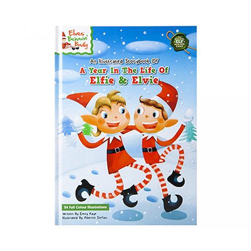 A Year In The Life Of Elfie & Elvie Hardback Story Book