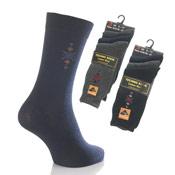 Mens Techno Socks Argyle Design