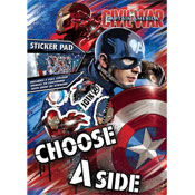 Captain America Civil War Sticker Pad