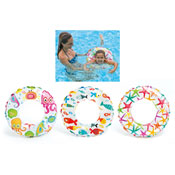 "20"" Lively Print Swim Ring"