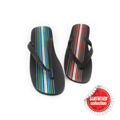 Mens Flip Flops with Stripes