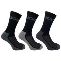 JCB 3 Pack Mens Everyday Work Sock