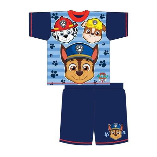 Official Boys Toddler Paw Patrol Shortie Pyjamas