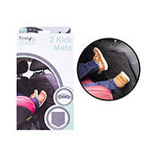 First Steps Car Kick Mats 2 Pack
