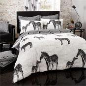 Tribal Zebra Duvet Set Modern Style