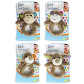 First Steps Baby Plush Toy Rattle