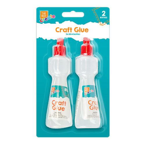 Craft Glue 80ml 2 pack