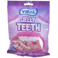 Jelly Teeth Sweets 100g Bag