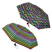Rainbow Print Supermini Umbrella