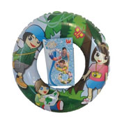 Inflatable Swim Ring 3 Assorted Designs