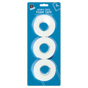 Double Sided Foam Tape 3 Pack