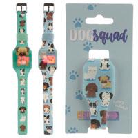 Dog Squad Silicone Digital Watch