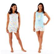 Ladies Short Pyjama Set Rise and Shine